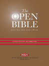 The Open Bible, New King James Version (eBook)